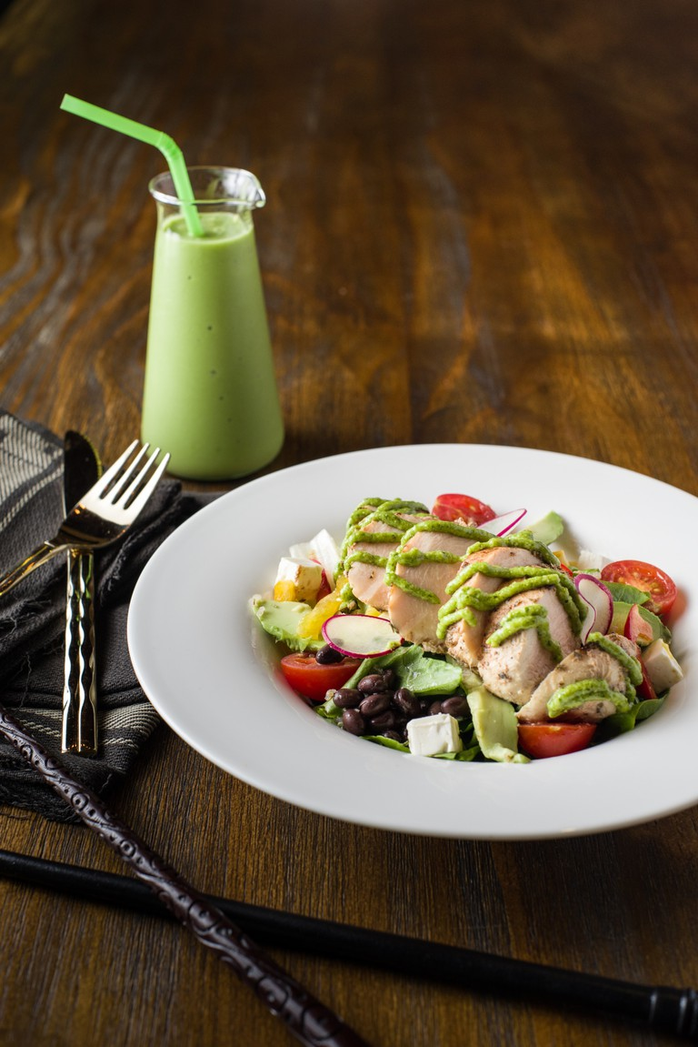 Grilled Chicken Quinoa Salad   Courtesy of FFL Fresh Fruits Lab and Platform 1094