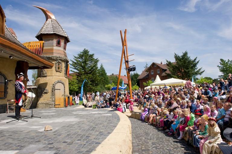 Festival at Gudensberg | © Grimmheimat Nordhessen / Paavo Blåfield / Deutsche Märchenstraße e.V.