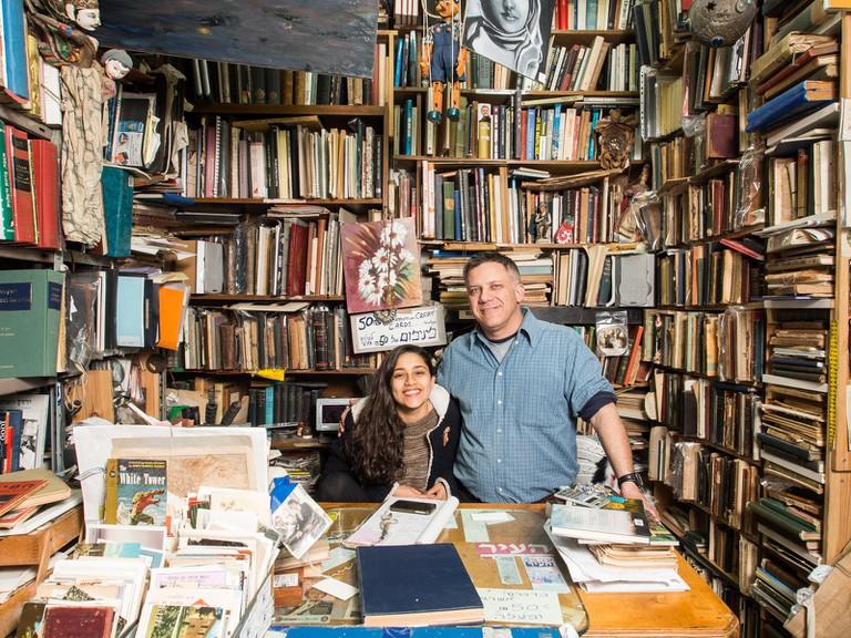 Tel Aviv's full of hidden secrets – like the hole-in-the wall Halper's Books store on Allenby