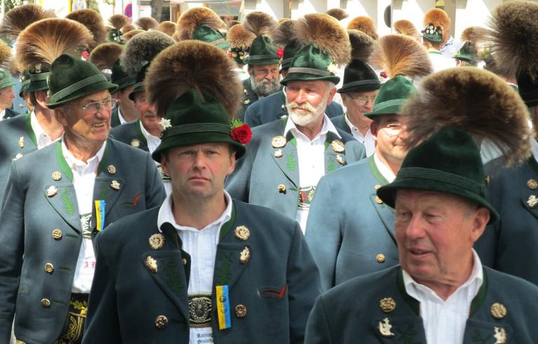 Traditional German hats © Susanne Tofern / Flickr