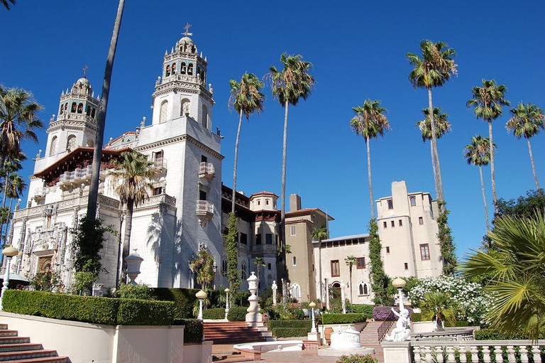 Hearst Castle|©Brian/Flickr