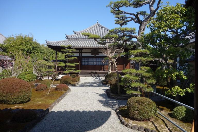 Horyu-ji Temple in Nara