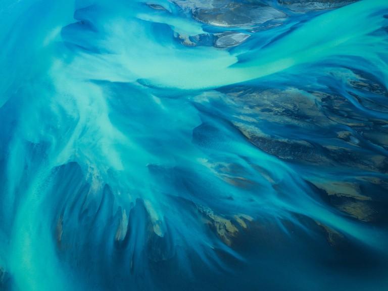 'Riverbeds II', Iceland   © Jin-Woo Prensena