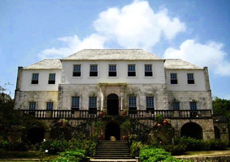 Rose Hall, the estate house of a former sugar plantation, in Jamaica   © Urban Walnut/WikiCommons