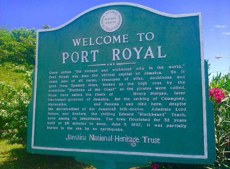 Welcome to Port Royal| © emailer/Flickr