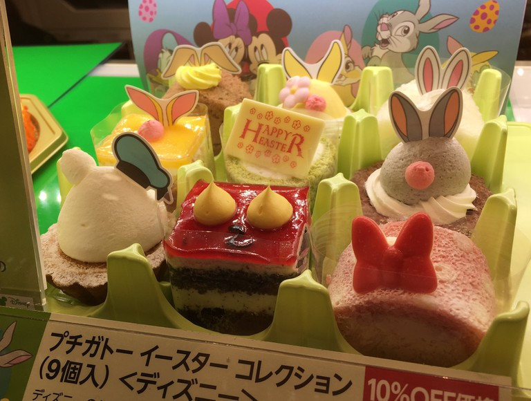 Easter themed Disney treats for sale at Ginza Cozy Corner | © Alicia Joy