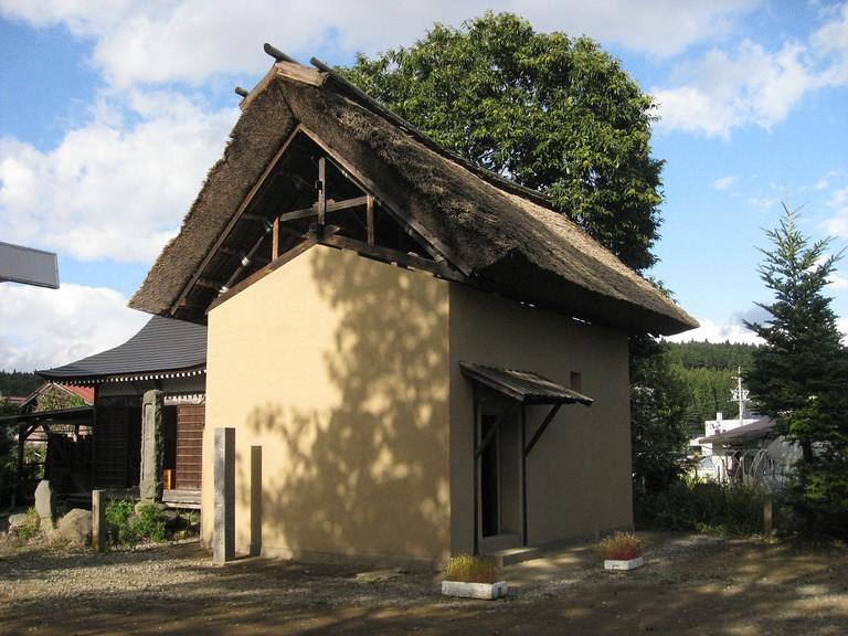 Storehouse where Issa lived in Nagano