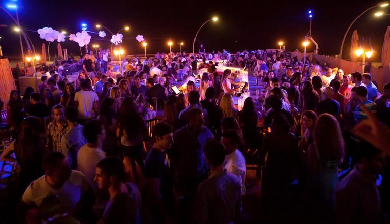 A night club in Jaffa just south of Tel Aviv