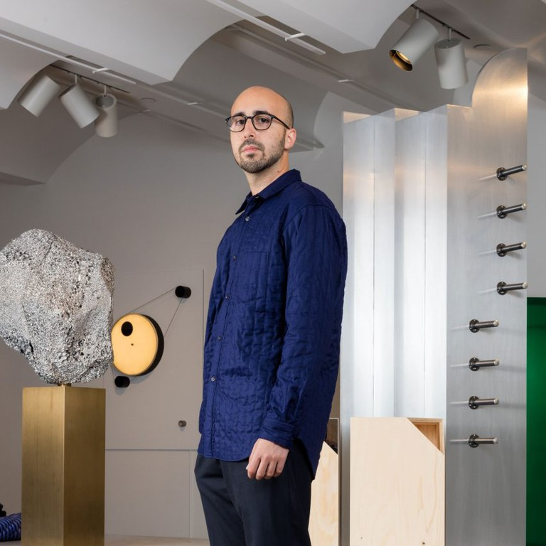 Juan Garcia Mosqueda, founder of New York design gallery Chamber. Photo: Lauren Coleman.