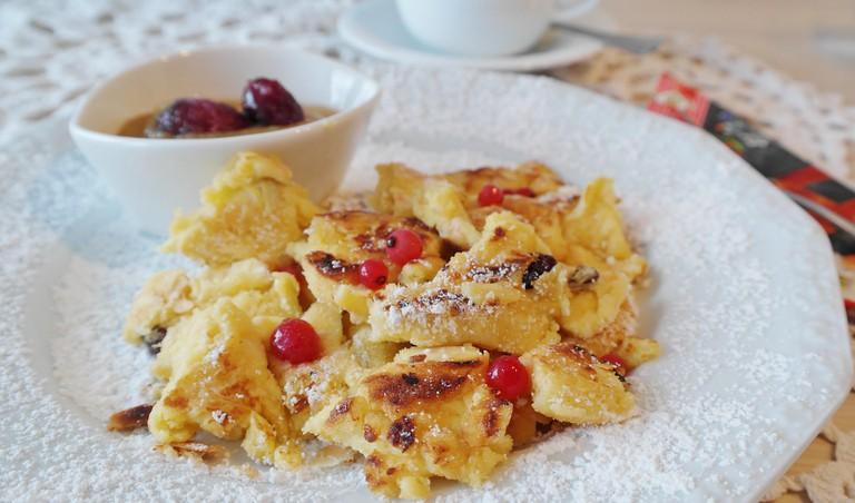 Traditional Austrian Dessert Kaiserschmarrn