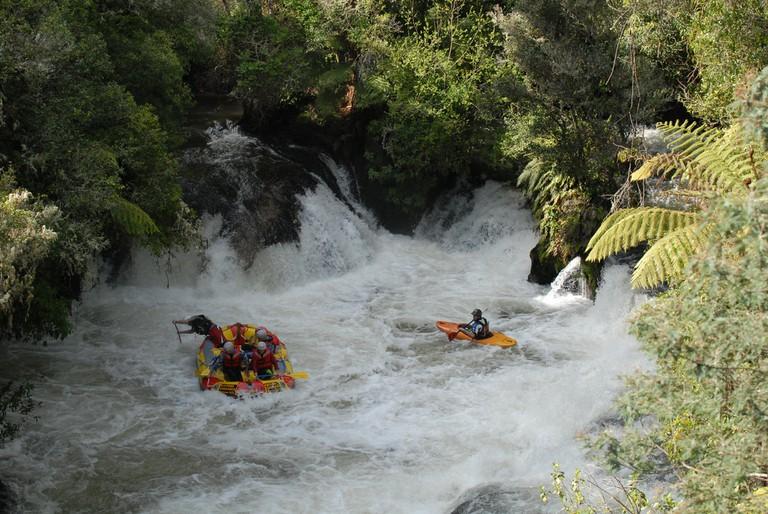 Rotorua - Kaituna River Rafting | © eyeintim/Wikimedia Commons