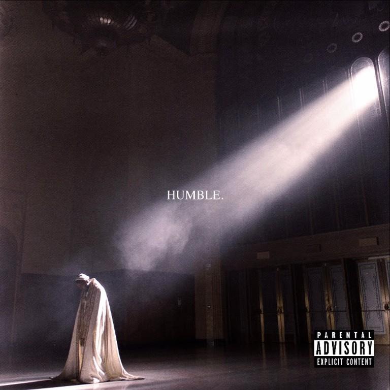 Kendrick Lamar 'Humble' artwork | © TDE