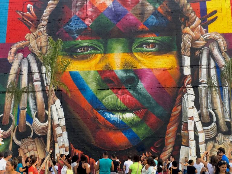 Kobra panel for 2016 Rio Olympics © Lise Alves