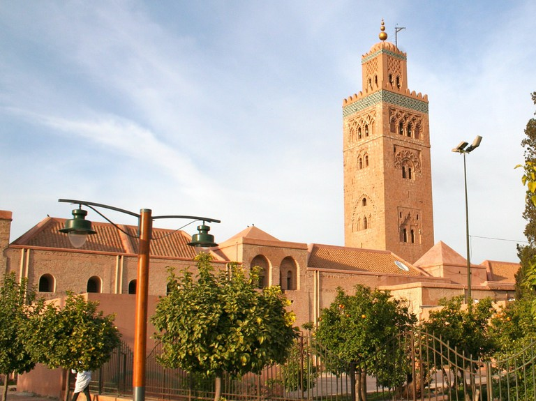 The sacred Koutoubia Mosque, Marrakesh | © Adam Axon / Flickr