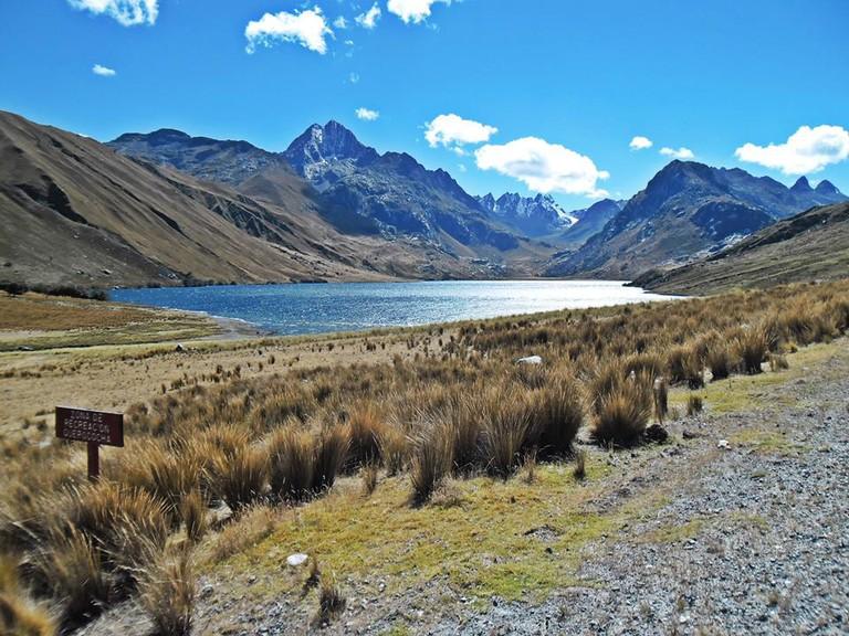Laguna Querococha in Ancash.|©Ondando/Wikipedia