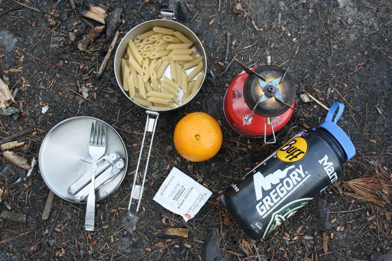 Campground Meal | © Laura Paskevics