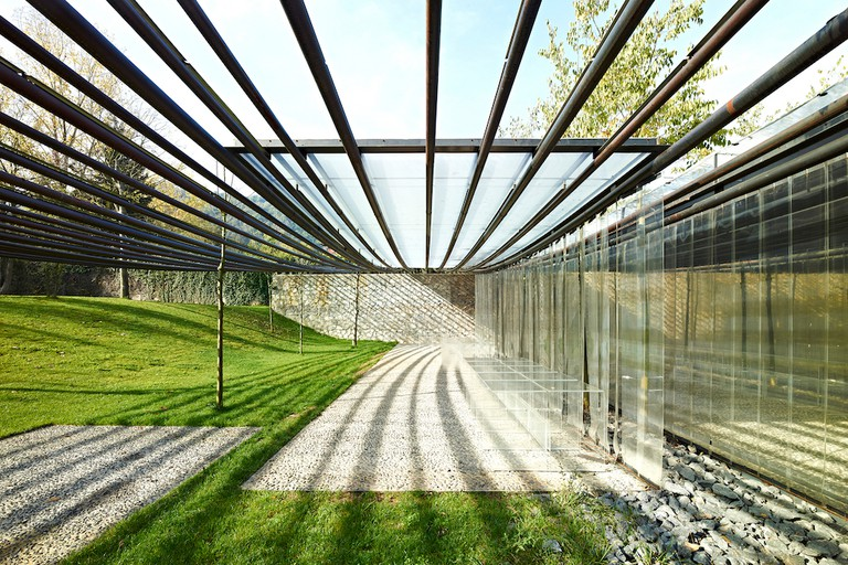 Les Cols Restaurant Marquee 2011 Olot, Girona, Spain Photo by Eugeni Pons Courtesy of Pritzker Architecture Prize