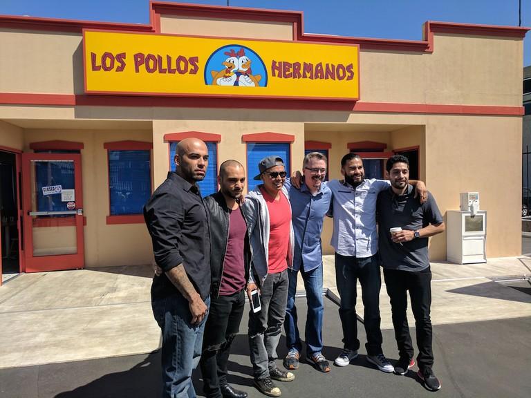 Vince Gilligan and Tuco's gang|©Juliet Bennett Rylah