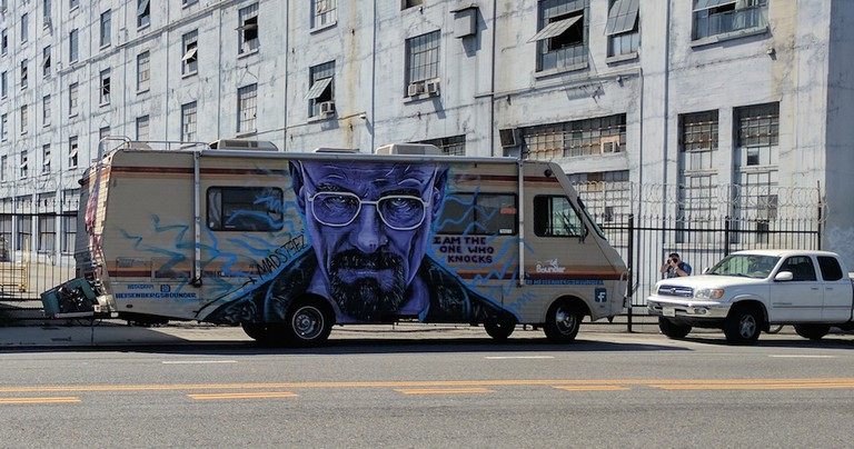 This foreboding RV was parked across the street|©Juliet Bennett Rylah