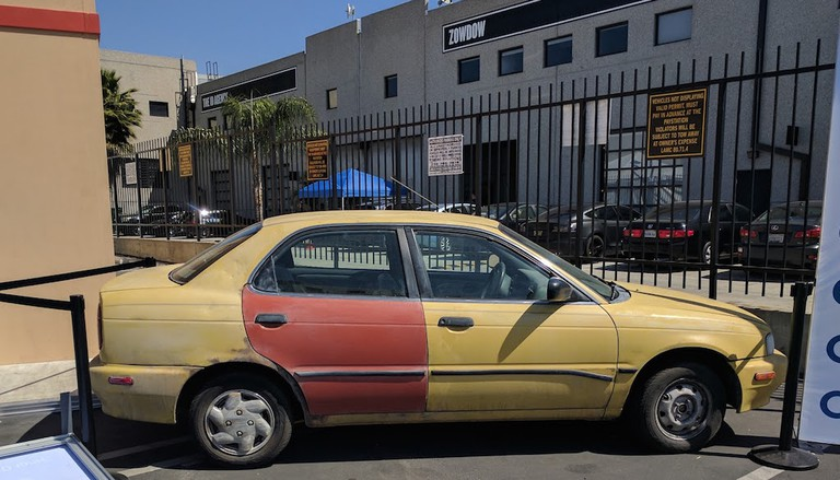 Saul, er, Jimmy's car|©Juliet Bennett Rylah