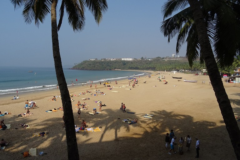 The swaying palms and white sands of Goa