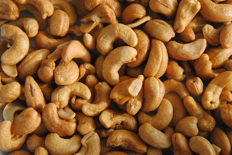 Goa is famous for her salted cashew nuts