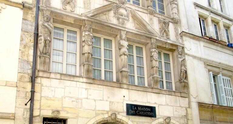 Maison des Cariatides ©William Jexpire/Wikicommons