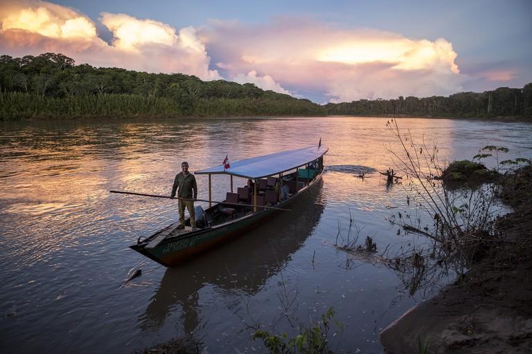 Sunset at the Manu National Park|©Manuel Orbegozo/WWF Perú