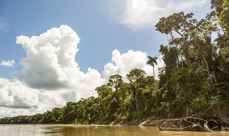 Manu scenery near the checkpoint.|©Manuel Orbegozo