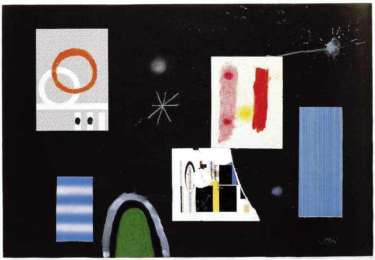 Joan Miró, Untitled III (1964) at Mayoral, Barcelona, Verdu. Courtesy of The Armory Show