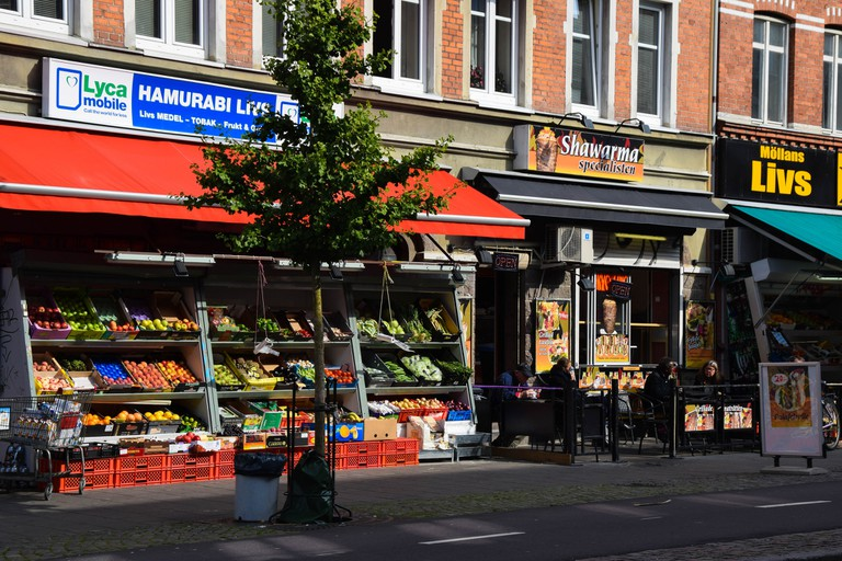 'Möllan' Square is the centre of Malmö's Middle Eastern Food scene | © Maria Eklind / Flickr
