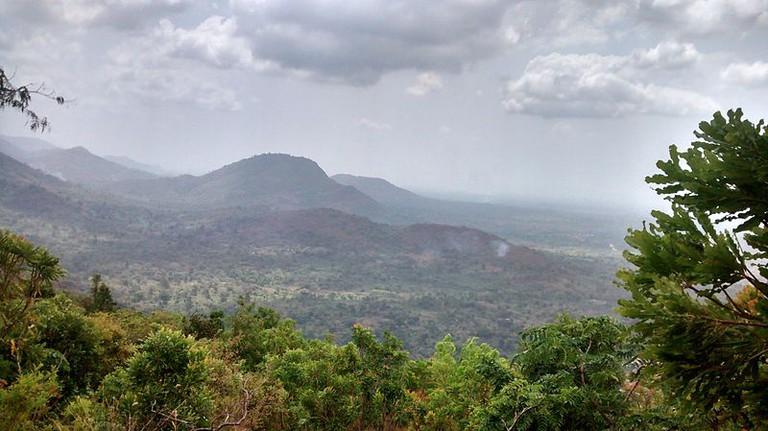 Mountain Afadjato Scenery