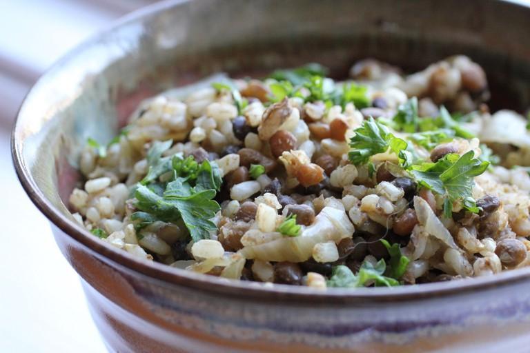 Mujadara and Moroccan Spice Blend 048 © healthygirlskitchen.com