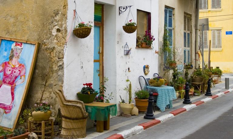 A picturesque house on a picturesque street in Tel Aviv's Neve Tzedek | Yaniv Ben-Arie, Flickr