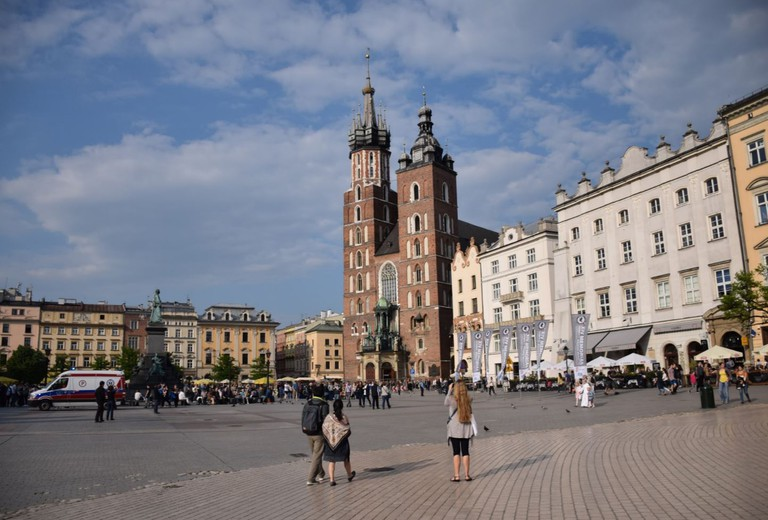 The Krakow Old Town and Main Square | © LiveKrakow
