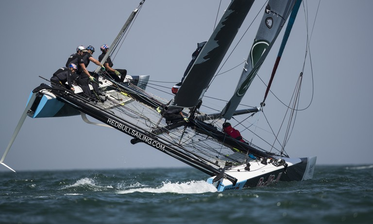 Red Bull Sailing Team compete during day 3. | © Red Bull Content Pool