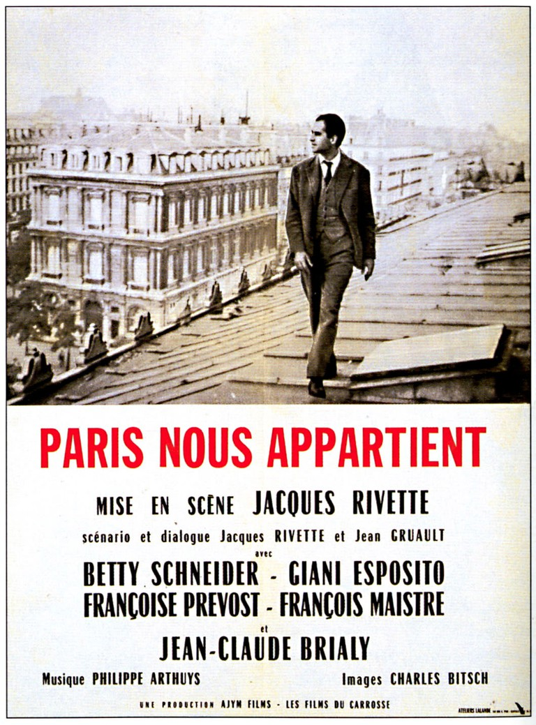 Paris nous appartient (1961) │ Courtesy of Ajym Films and Les Films du Carrosse