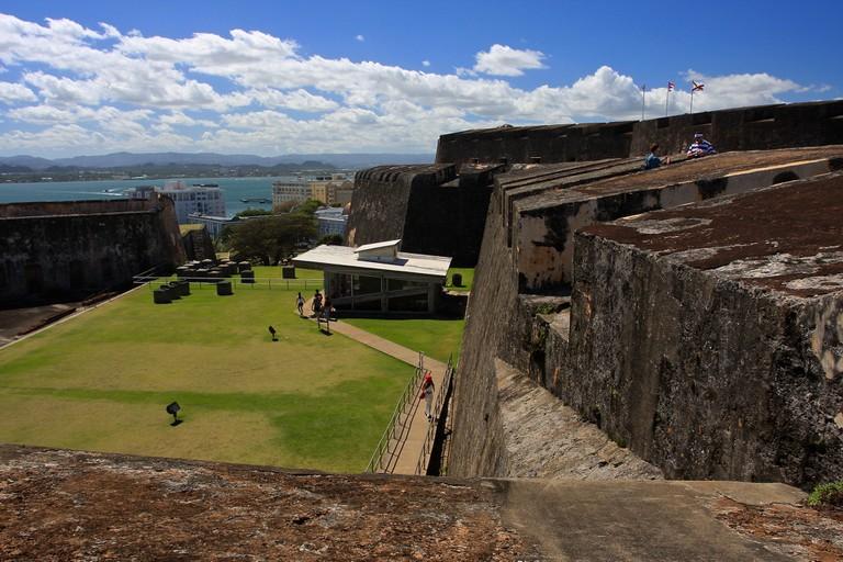 Part of Fort San Cristobal | © TravelingOtter/ Flickr