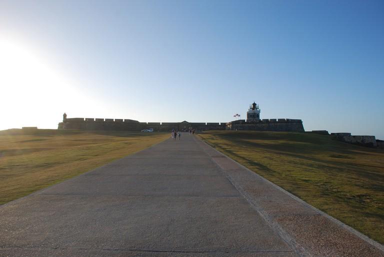 Path leading to El Morro Castle | © Jose/ Flickr