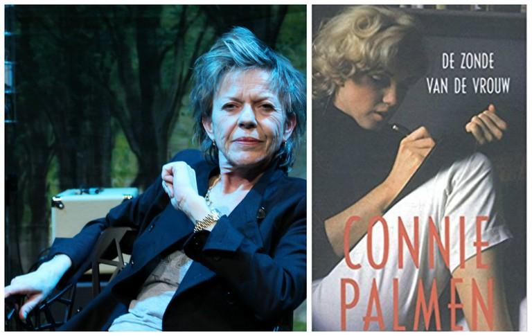 Connie Palmen in 2014 | © Vera de Cook / WikiCommons | Cover art for