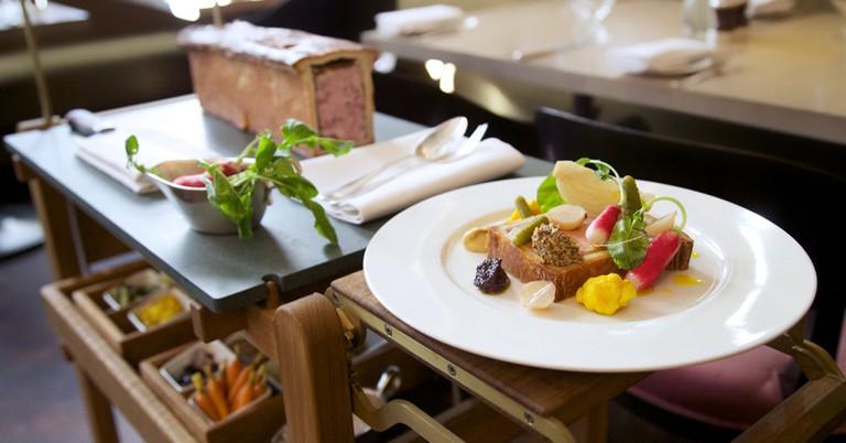 Pork pie on a plate | © Berners Tavern