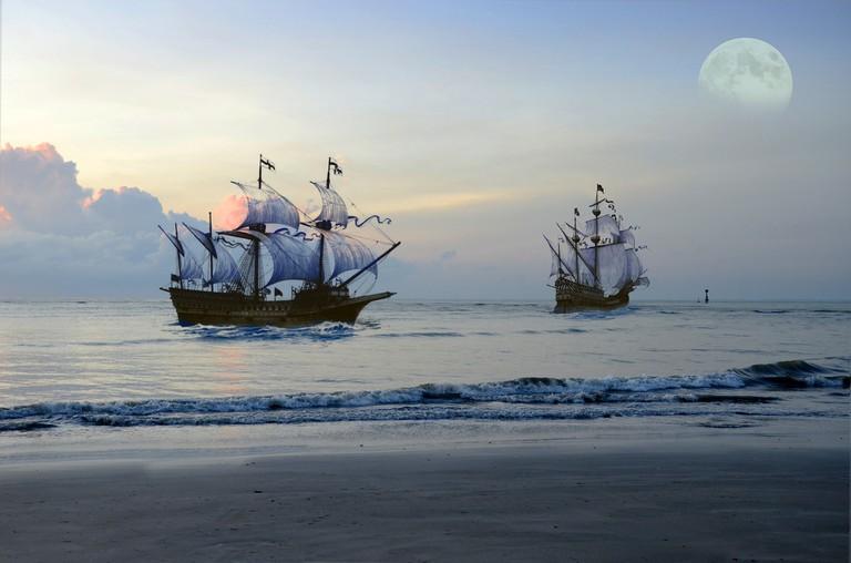 Pirate Ship   © Rujhan_basir/Pixabay