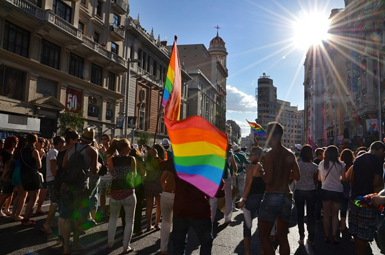 Madrid is a very LGBT-friendly city and has many hotels that welcome LGBT guests | © FELGTB/Flickr