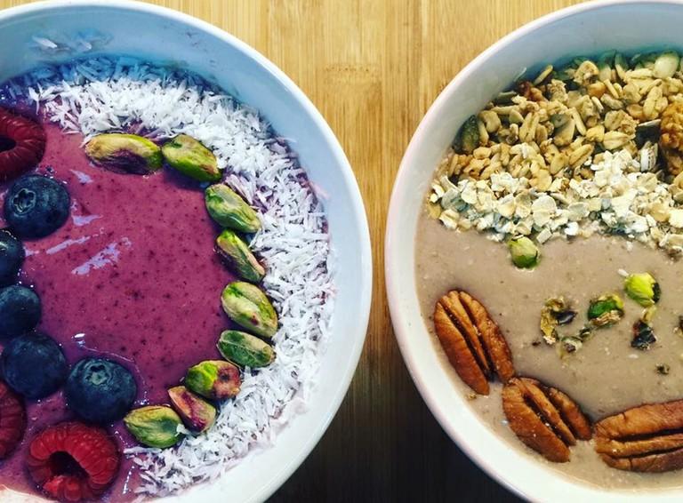 Breakfast superfoods | © Raw Coco GreenBar