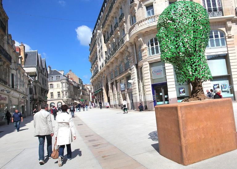 Rue de la LIberté ©Ville de Dijon