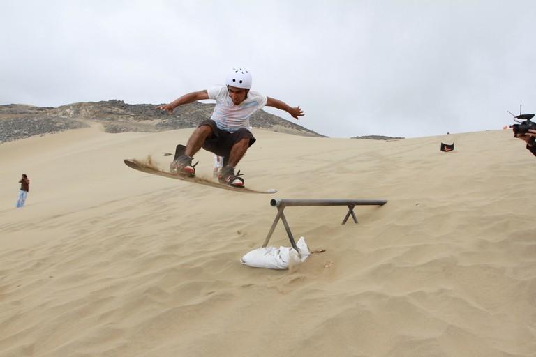 Sandboard © Municipalidad Antofagasta/Flickr