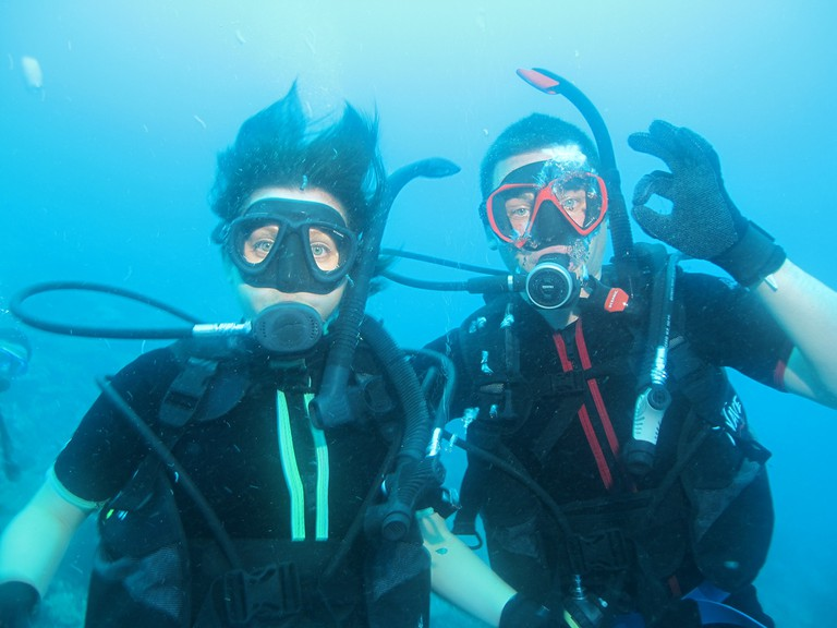 Scuba divers | © Jenny Mealing/ Flickr