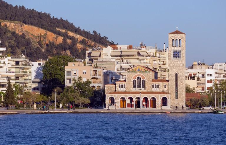 Saint Constantine and Helen church, Volos, Thessaly, Greece   © Lefteris Papaulakis/Shutterstock