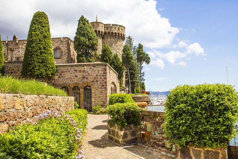 Mandelieu-la Napoule Castle, South of France