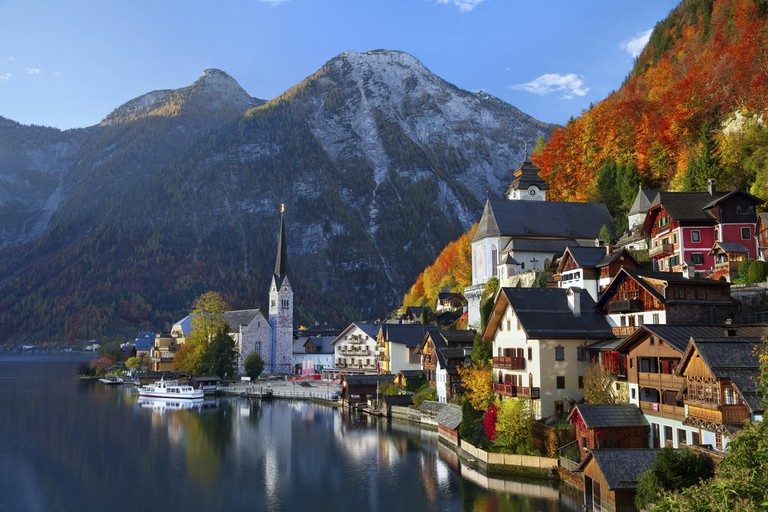 Hallstatt is one of the world's most photographed towns | ©By Rudy Balasko / Shutterstock